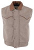 Schaefer Outfitters Competitor Wool Vest - Taupe - Front