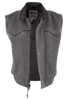 Schaefer Outfitters Competitor Wool Vest - Charcoal - Hero