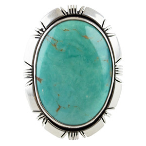 Ring - Sterling Silver Turquoise Ring
