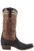 Lucchese Men's Black Elephant Boots - Side