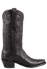 Stallion Women's Black Baby Buffalo Boots - Side