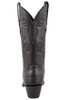 Stallion Women's Black Baby Buffalo Boots - Back