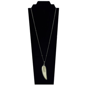 Tuya Jewelry Bone Feather Necklace - Hero 1