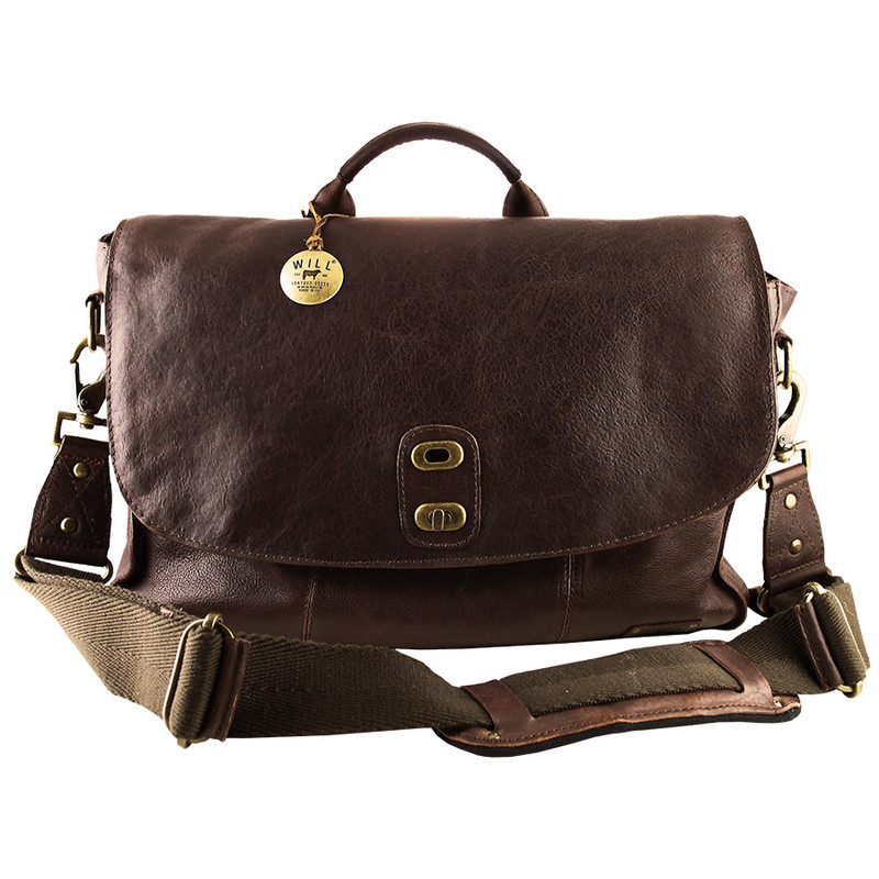 Will Leather Goods Kent Messenger Bag - Front