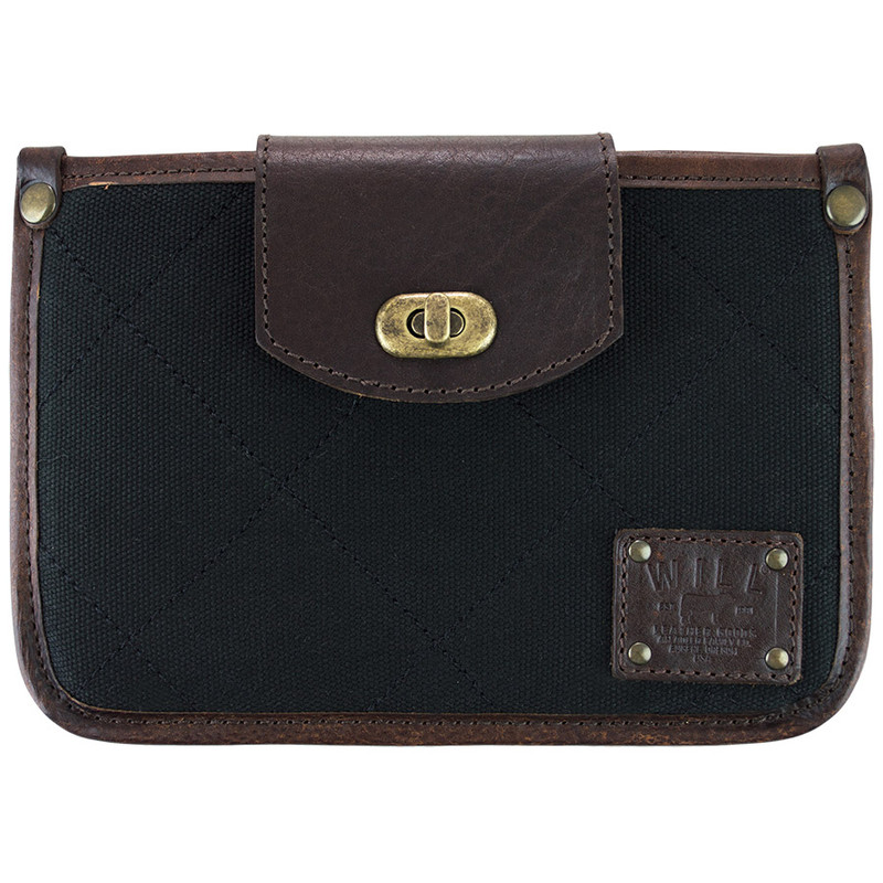 Office - Will Leather Goods Turnlock Mini Tablet Sleeve - Front