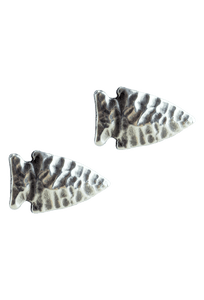 Pinto Ranch Arrowhead Silver Cufflinks - Front