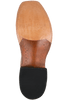 Rios of Mercedes Men's Cigar and Tobacco Ostrich Leg Boots - Bottom