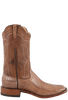 Rios of Mercedes Men's Cigar and Tobacco Ostrich Leg Boots - Side