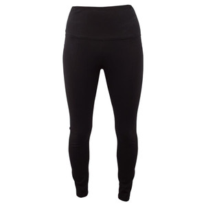 Lysse Basic Straight Leggings - Black - Front