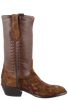 Stallion Men's Chocolate Hippo Boots - Side