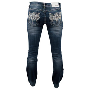 Grace in LA Junior Bootcut Navajo Diamond Jeans