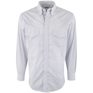 Gitman Bros. Navy and Black Check Shirt - Front