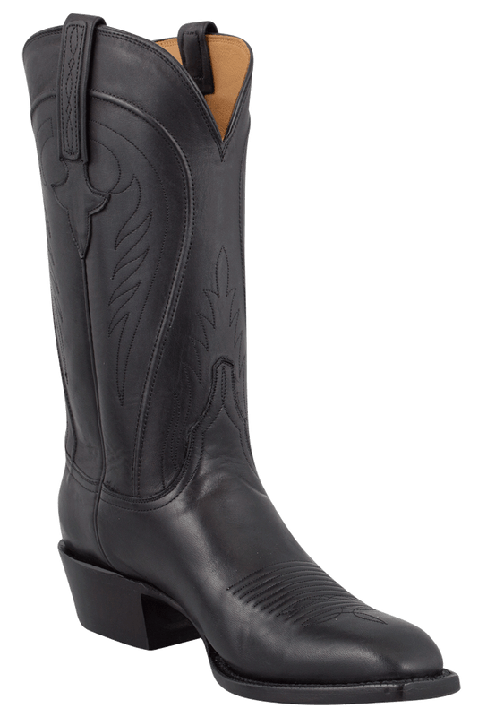 Lucchese Men's Black Ranch Hand Boots - Hero