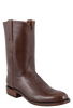 Lucchese Men's Antique Brown Buffalo Roper Boots - Hero