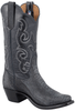 Rios of Mercedes Women's Black Ostrich Leg Boots - Hero