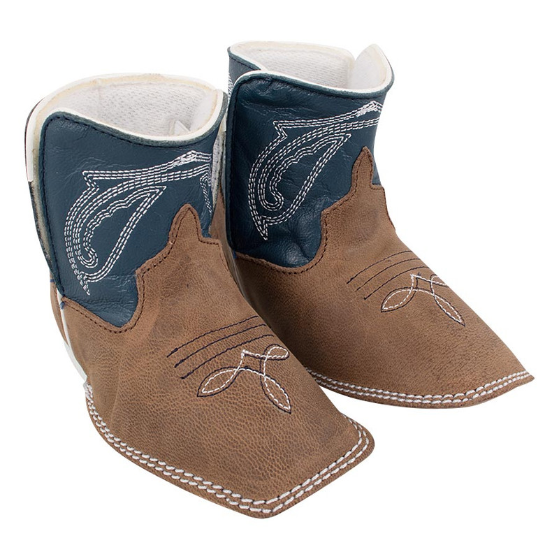 Infant - Anderson Bean Toast Bison Infant Booties