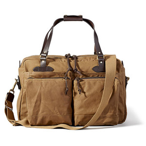 Filson 48 Hour Duffle Bag - Tan - Front