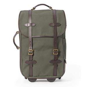 Filson Medium Rolling Carry-On Bag - Otter Green - Front