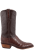 Lucchese Men's Sienna Ultra Caiman Crocodile Boots - French Toe - Side