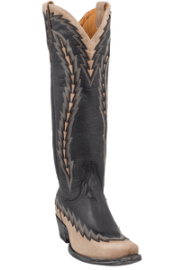 Old Gringo Women's Black/Bone Ojai Vesuvio Boots