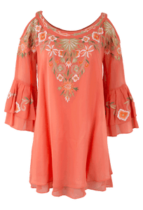 Vintage Collection Amber Cold Shoulder Tunic - Front