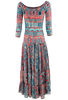 Vintage Collection Santa Fe Nights Long Dress - Back