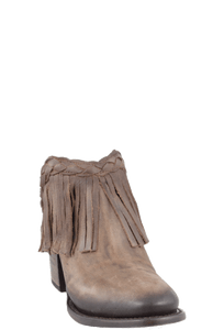 Freebird by Steven Women's Brown Lucy Fringe Clogs - Hero