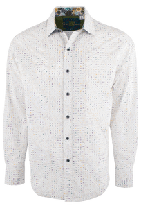 Robert Graham Kallahri White Shirt - Front