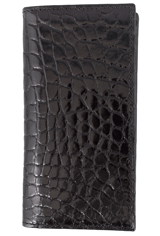 Alligator Checretary Wallet - Front