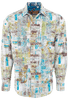 Robert Graham Persian Gulf White Shirt - Front