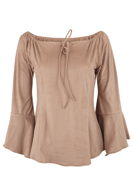 Union of Angels Shayla Peasant Top - Front