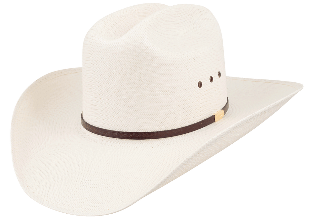 Stetson 10X Maddock Straw Hat - Side