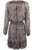 Scully Honey Creek Feather Print Dress - Back