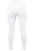 Lysse White Denim Skinny Leggings - Back