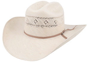 Stetson 10X River Oaks Straw Hat - Side