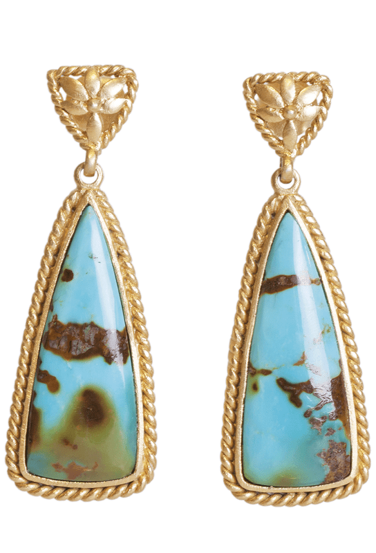Christina Greene Southwestern Earrings - Front