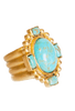 Christina Greene Navajo Statement Ring - Hero