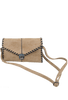 Sydney Love Laced Clutch - Sand - With Strap