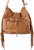 American West Seminole Soft Shoulder Hobo Bag - Deerskin - Back