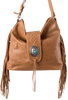 American West Seminole Soft Shoulder Hobo Bag - Deerskin - Front