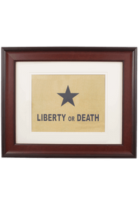 Flag - Liberty or Death Historic Flag Print
