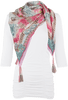 Johnny Was Color Currency Scarf - Front