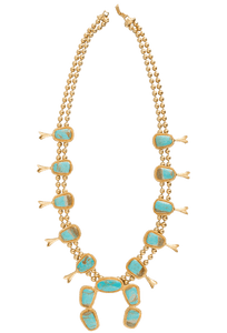 Christina Greene Squash Blossom Necklace