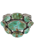 Turquoise Moon Royston Turquoise Multi-Stone Cuff - Front