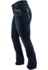 Silver Jeans Suki Mid-Rise Slim Bootcut Jeans - Side
