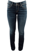 Silver Jeans Suki Mid-Rise Baby Bootcut Jeans - Front