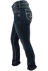 Silver Jeans Suki Mid-Rise Baby Bootcut Jeans - Side