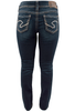 Silver Jeans Suki Mid-Rise Baby Bootcut Jeans - Back