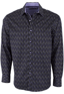 Zagiri - Long Sleeve Shirt - Space Cowboy Black - Front