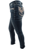 Grace in L.A. Easy Fit Feather Pocket Skinny Jeans - Side